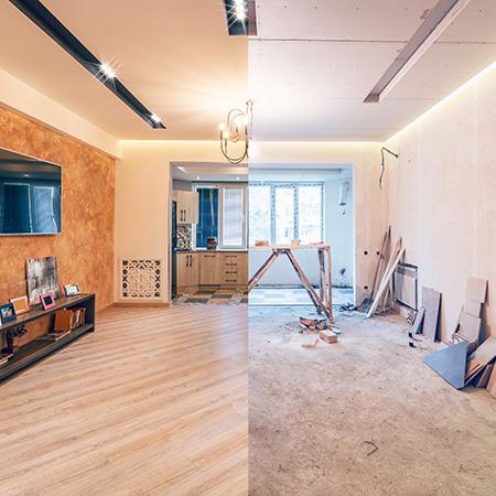 Travaux de rénovation intérieure à Compiègne